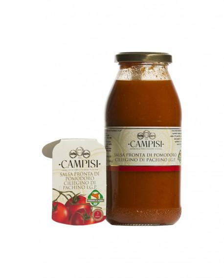 Salsa pronta di Pomodoro Ciliegino di Pachino IGP - bottiglia 50 cl - Campisi