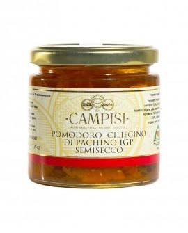 Pomodoro Ciliegino semisecco sotto'olio - vaso vetro 220 g - Campisi