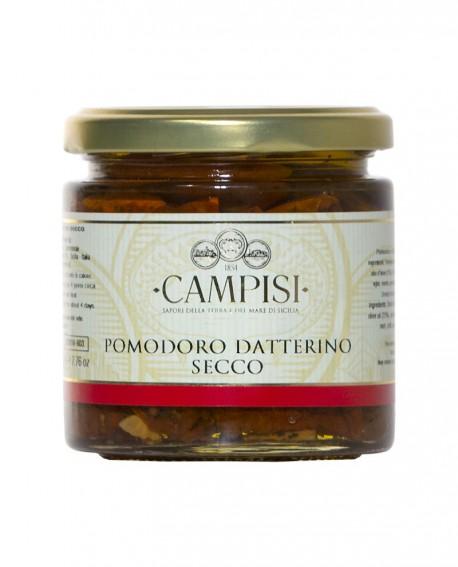 Pomodoro Datterino secco - vaso vetro 220 g - Campisi