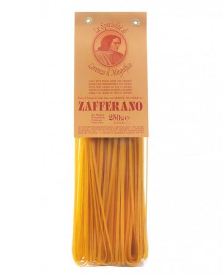 Zafferano Linguine Lorenzo il Magnifico 250 gr Pasta Aromatizzata - Antico Pastificio Morelli