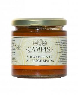 Sugo pronto al Pesce Spada pomodoro ciliegino - vaso vetro 220 g - Campisi
