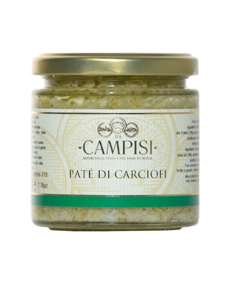 Patè di Carciofi - vaso vetro 220 g - Campisi