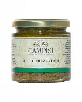 Patè di Olive Verdi - vaso vetro 220 g - Campisi