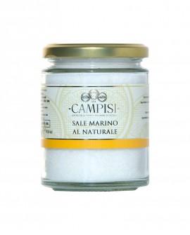 Sale Marino al Naturale - vaso vetro 300 g - Campisi