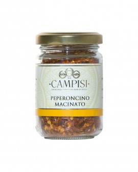 Peperoncino macinato - vaso vetro 50 g - Campisi