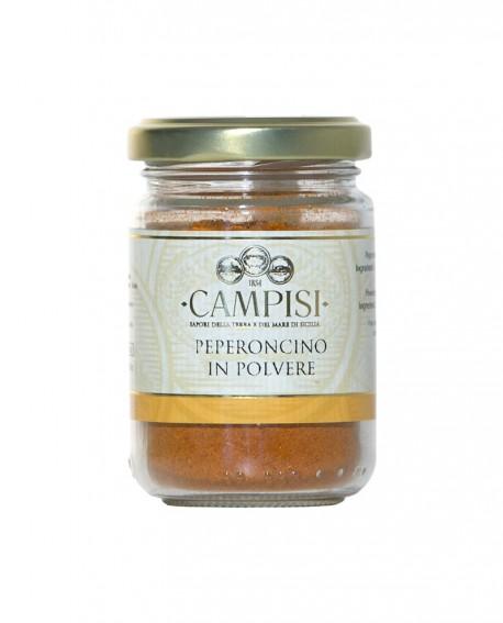Peperoncino in polvere - vaso vetro 65 g - Campisi