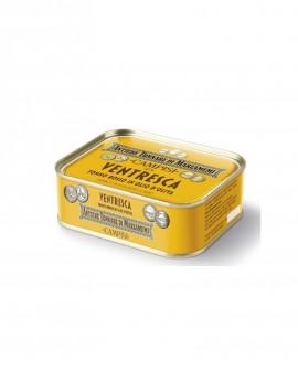 """Ventresca di tonno rosso in latta """"Antiche tonnare di Marzamemi"""" 340 g - Campisi"""