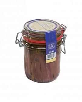 Filetti di Acciughe Extra in Olio di Oliva vaso ermetico 340g - Campisi