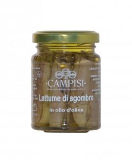 Lattume di Sgombro in Olio di Oliva - vaso vetro 100 g - Campisi