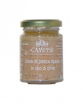 Uova di Pesce Spada in Olio di Oliva - vaso vetro 90 g - Campisi