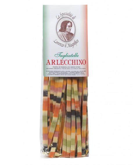 Arcobaleno Tagliatelle Lorenzo il Magnifico 250 gr Multicolore - Antico Pastificio Morelli