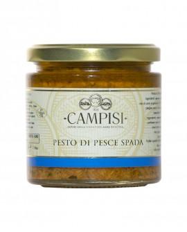 Pesto di Pesce Spada - vaso vetro 210 g - Campisi