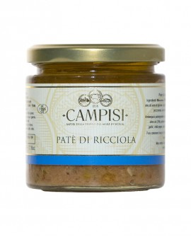 Patè di Ricciola - vaso vetro 220 g - Campisi