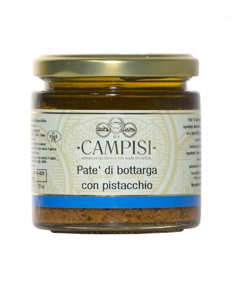 Patè di Bottarga con Pistacchio - vaso vetro 220 g - Campisi