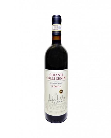 Chianti Colli Senesi DOCG 2018 Biologico - bottiglia da 0,75 lt - Azienda Agricola San Quirico