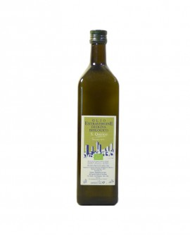 Olio extra Vergine di Oliva Biologico - bottiglia da 1 lt - Azienda Agricola San Quirico