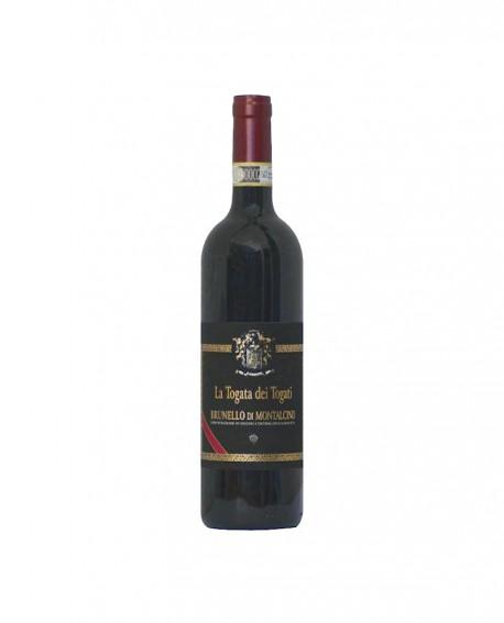 Brunello di Montalcino DOCG La Togata dei Togati Crù 2015 - Bottiglia da 0,75 l - Cantina La Togata