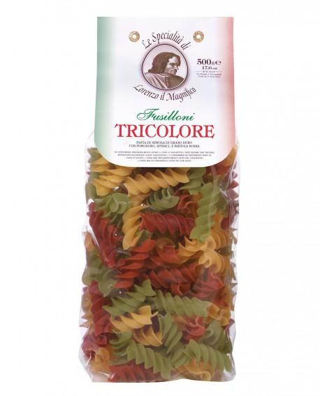Fusilloni Multicolore Italia Lorenzo il Magnifico 500 gr - Antico Pastificio Morelli