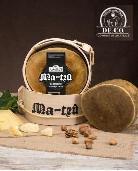 Pecorino amatriciano stagionato Ma-Trù  1,9-2,1 kg grattugia De.Co - Caseificio Storico Amatrice