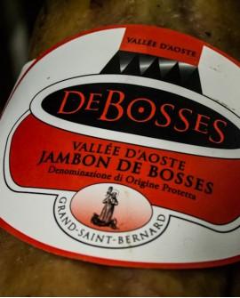 Jambon DOP - Disossato Pressato 7 kg stagionatura 17-18 mesi - De Bosses
