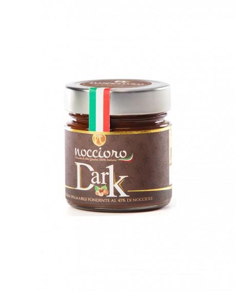 Noccioro Dark crema spalmabile di nocciole Fondente - vasetto 250g - Noccioro