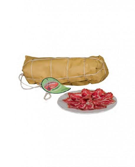 Capocollo biologico o coppa - stagionatura 60gg - 2 kg - Sapori della Valdichiana