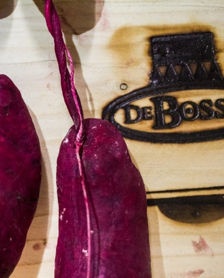 Baudin Barbabietola filza 1 kg - 100g x 10 pezzi - stagionatura 1 mese - De Bosses