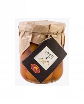 Pomi d'Oro - pomodorino giallo al naturale - in vetro da 420gr - Le Gemme del Vesuvio
