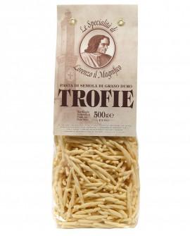 Trofie 500 gr Lorenzo il Magnifico - pasta semola di grano duro - Antico Pastificio Morelli