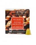 Capsule clone Nespresso - Miscela Standard - Intenso Aromatico - Confezione da 50 pezzi - Caffè Poli