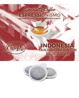 Cialda carta - Speciality Coffee Indonesia Beringin Blue Batak - Confezione da 150 pezzi - Caffè Poli