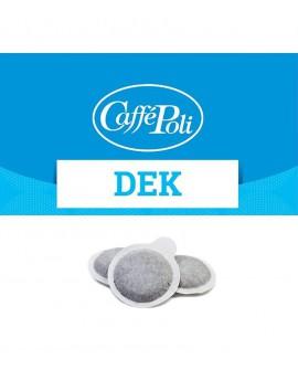 Cialda carta - Caffè Dek - Confezione da 50 pezzi - Caffè Poli