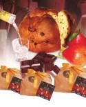 Panciuc pere e cioccolato imbibito con liquore alla pera 750 g - Pasticceria Aliverti
