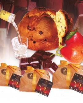 Panciuc pere e cioccolato imbibito con liquore alla pera 1 kg - Pasticceria Aliverti