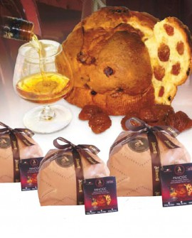 Panciuc marroni canditi imbibito con caribbean rhum 500 g - Pasticceria Aliverti