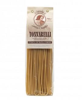 Spaghettoni Tonnarelli 500 gr Lorenzo il Magnifico - pasta semola di grano duro - Antico Pastificio Morelli