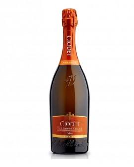"""Valdobbiadene Prosecco Superiore DOCG Extra Dry """"Gelmo"""" - Bottiglia da 0,75 l - Ciodet Valdobbiadene"""