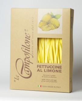 Fettuccine all'uovo al limone 250g - La Campofilone