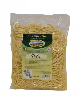 Trofie La Montanara - pasta fresca trafilatura laminata