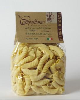 Penne rigate all'uovo 250g - La Campofilone
