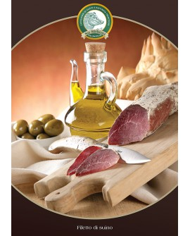 Filetto di suino intero 300 g - s/v Salumificio Su Sirboni