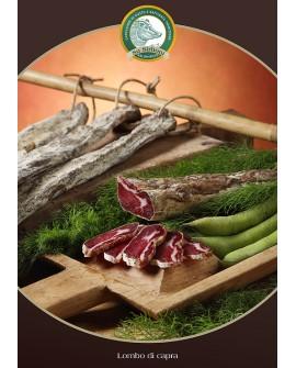 Prosciutto di capra trancio 800 g - s/v Salumificio Su Sirboni