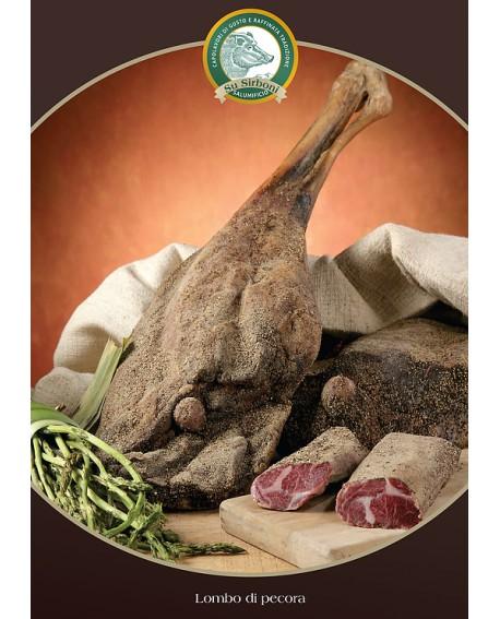 Prosciutto di pecora trancio 800 g - s/v Salumificio Su Sirboni