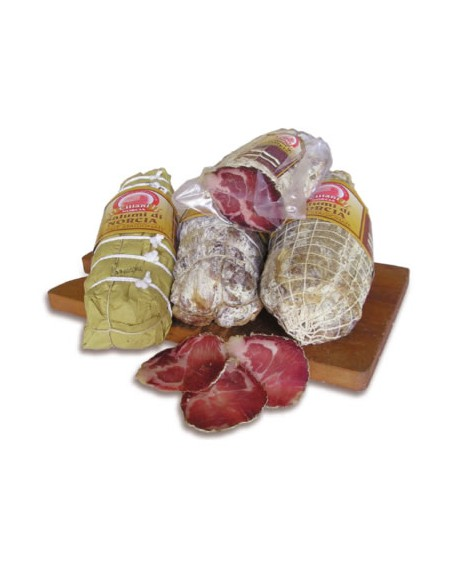 Lonze stagionate 1,5 kg Salumificio Ciliani
