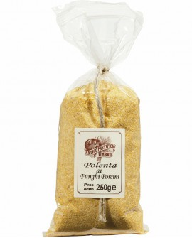 Polenta istantanea ai funghi Porcini 250 gr - Antico Pastificio Umbro Linea Classica