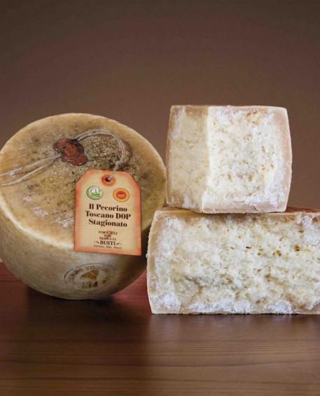 Il Pecorino Toscano DOP p.t. semistagionato 2,5 kg Caseificio Busti
