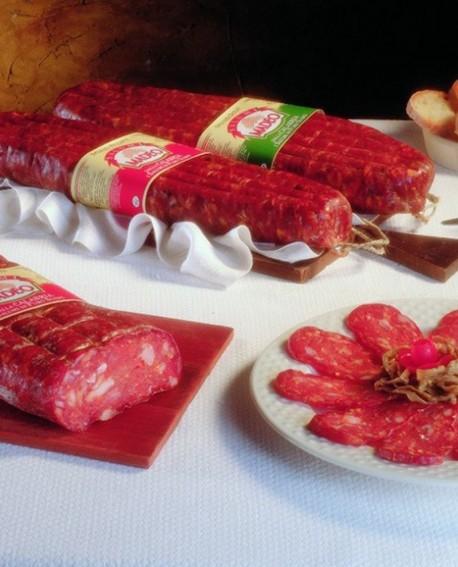 Spianata Calabrese rossa dolce 1,8 kg Salumificio Madeo