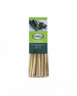 Tagliatelle asparagi - pasta secca ai gusti 250 gr - Pastificio Pirro