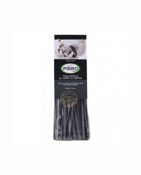 Tagliatelle nero di seppia - pasta secca ai gusti 250 gr - Pastificio Pirro