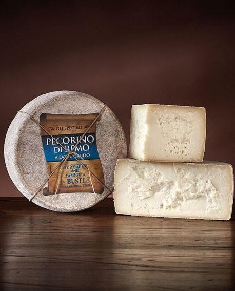 Pecorino di Remo a latte crudo 2,2 kg Caseificio Busti